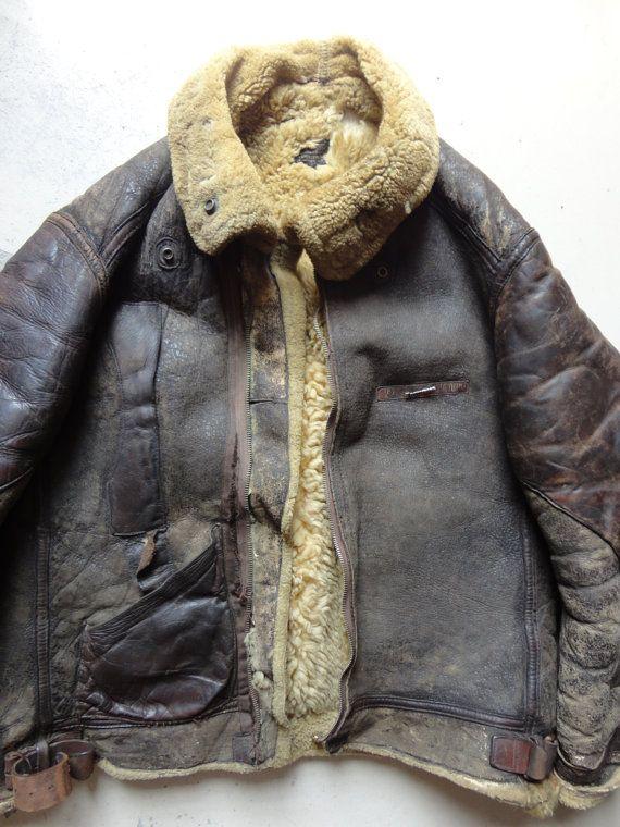 WW2 B-3 bomber jacket