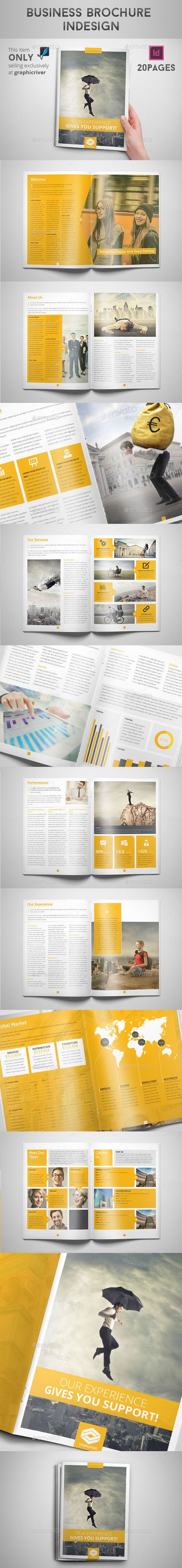 Business Brochure Indesign - Informational Brochures