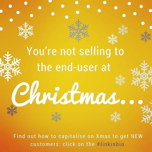 You're not selling to the end-user at Xmas, most likely you're selling to someone who wants to gift your product/service to a friend/family member, loved-one or even work colleague. ⠀ ...⠀ Deciding WHO exactly you are targeting is an essential part of your strategy for the Holiday season. Find out how you can leverage Christmas to find NEW customers by reading my latest blog (click #linkinbio). Enjoy! And please share your comments. ⠀ .⠀ .⠀ .⠀ .⠀ .⠀ #xmas2016 #christmas2016 #xmas16…