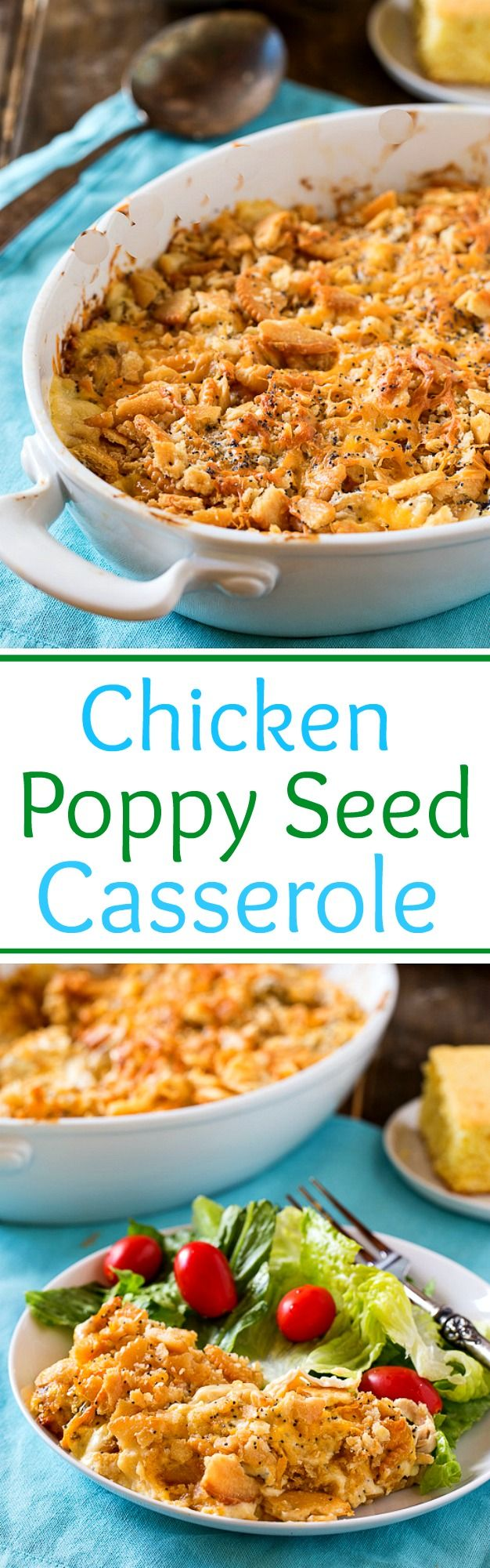 Chicken Poppy Seed Casserole