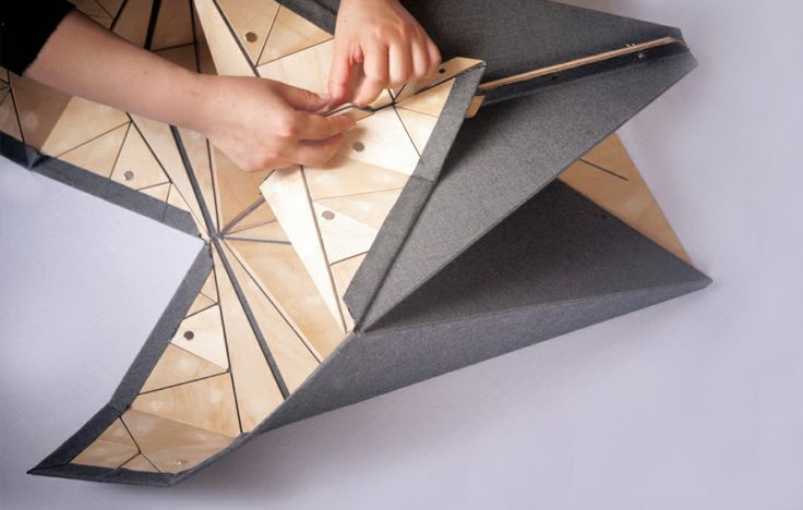 Foldable Origami Furniture Shows Us How Flatpack Can Get Even Flatter - Architizer