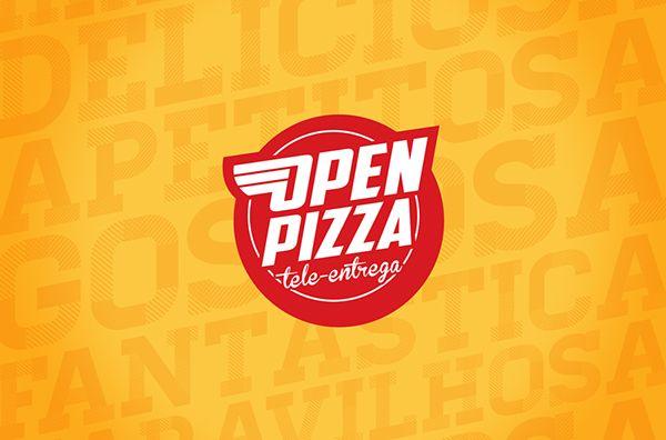 OPEN PIZZA on Behance