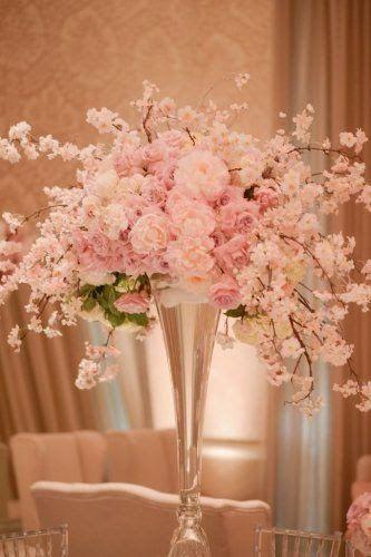 春はもうすぐ!/淡いピンクが乙女心をくすぐる≪桜≫をテーマにした結婚式にきゅんっ♡にて紹介している画像