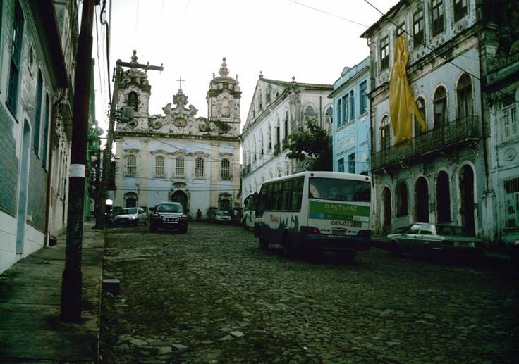 Nasci aqui! Ladeira do Boqueirão, Salvador/Bahia.
