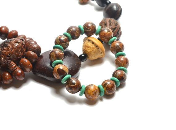 Feng Shui Longevity Dzi beads Amulet by FortuneJadeJewelry on Etsy, £23.00