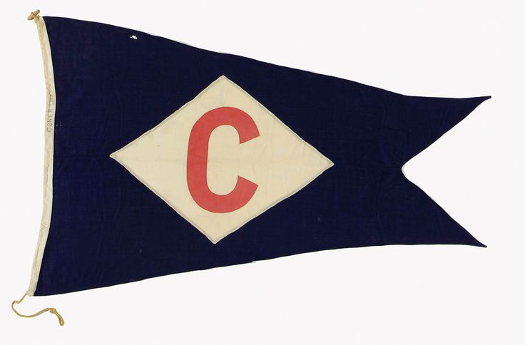 House flag, Baltic Steamship Co. Ltd - National Maritime Museum