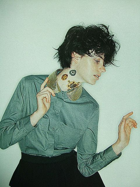 Gold Collars as a point for this Autumn and Winter !