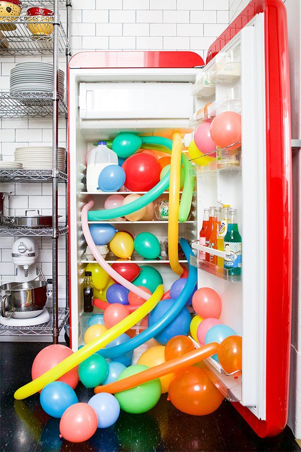 Balloons In Things: Fridge