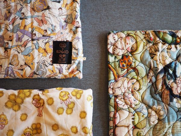Kip & Co x May Gibbs collaboration is a celebration of Wattle Dance, Flutter and Bush Friends prints on an array of linen and pillow for your lil' munchkins bedroom. Bedtime will be something to look forward to even more with this to slumber on...