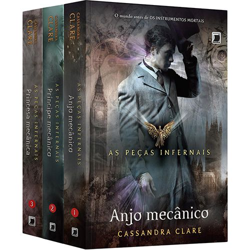 Livro - Kit As Peças Infernais