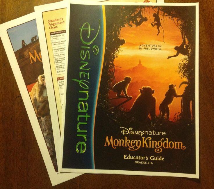 Disney's Monkey Kingdom Packet
