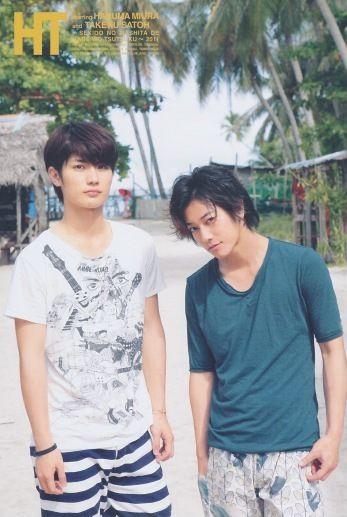 sato takeru and miura haruma relationship memes