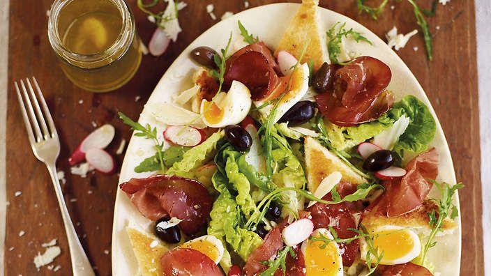 Bresaola salad (insalata della valtellina) recipe : SBS Food