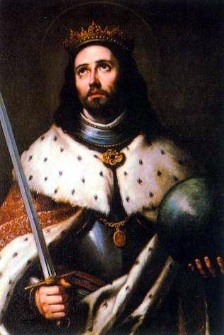Saint Fernando III (Aug. 5, 1199 - May 30, 1252) ~ King of Castile and Leon, Spain ~ Reigned from 1217 - 1252 ~ King Fernando III was born in the monastery of Valparaiso in Spain. Saint Fernando's father was King Alfonso IX of Leon, and his mother the saintly Lady Bereguera. King Saint Fernando became one of history's most gifted and formidable warriors, while being at the same time one of the greatest monarchs who ever ruled.