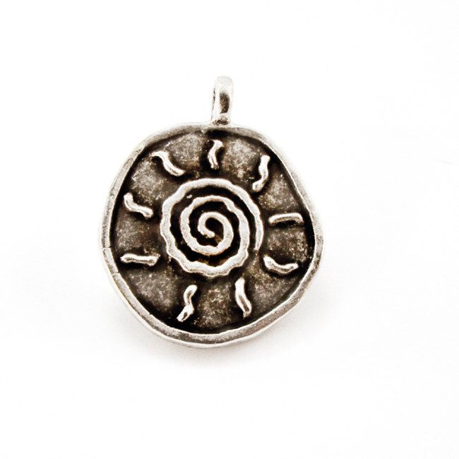 Sun Metal Pendant, Silver Tone Large Pendant, Charm for Necklaces, Jewelry Making by Mebeadterranean on Etsy https://www.etsy.com/listing/206014095/sun-metal-pendant-silver-tone-large