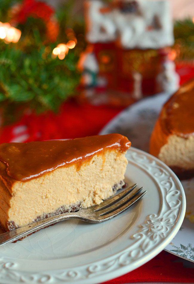 Sernik+karmelowy+z+polewą+ze+słonego+karmelu+na+czekoladowym+spodzie:+Ten+sernik+ma+wszystkie+zalety:+jest+prosty,+szybki+w+przygotowaniu+i...