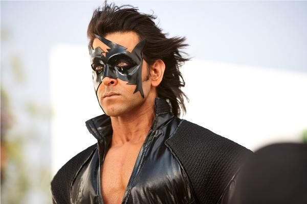 KRRISH 3 STILLS | Hrithik Roshan & Priyanka Chopra in Krrish 3...here is Hrithik in his Krrish mask :)