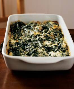 Easy Spinach Casserole Recipe - Low-Carb Spinach Casserole Recipe