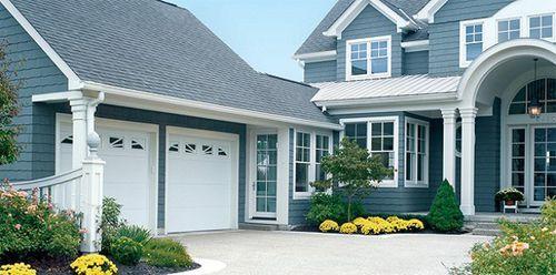 Sectional garage door / steel / polyurethane / automatic 9100 COMFORT KRONway