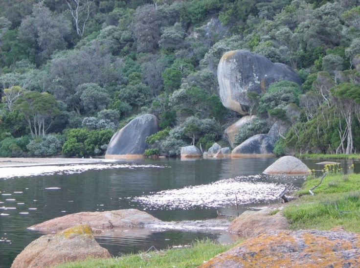 Fantastic time camping at Wilsons Prom