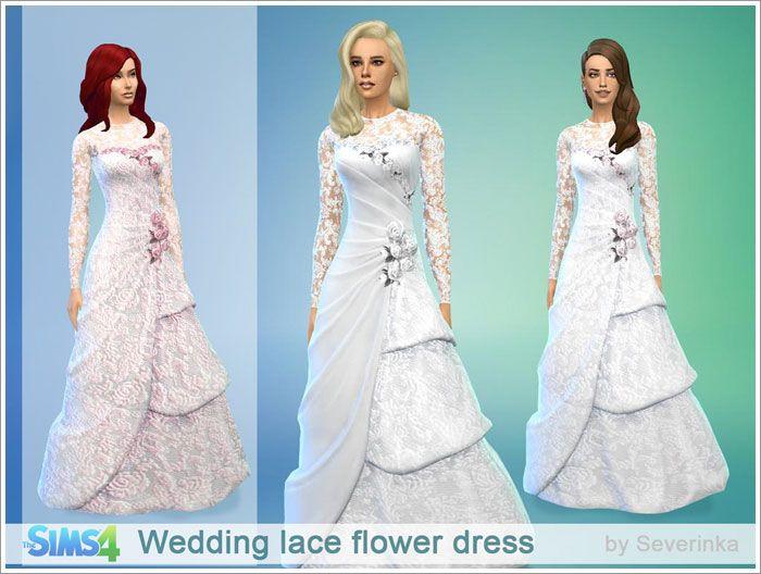 Sims 4 hochzeitskleid