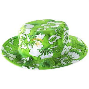 Green Hibiscus Bucket Hat (Age 0-2) @ Picky Picky me .com
