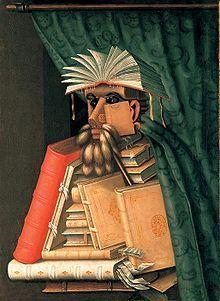 Giuseppe Arcimboldo (1527-1593) – Le Bibliothécaire (ca 1566)