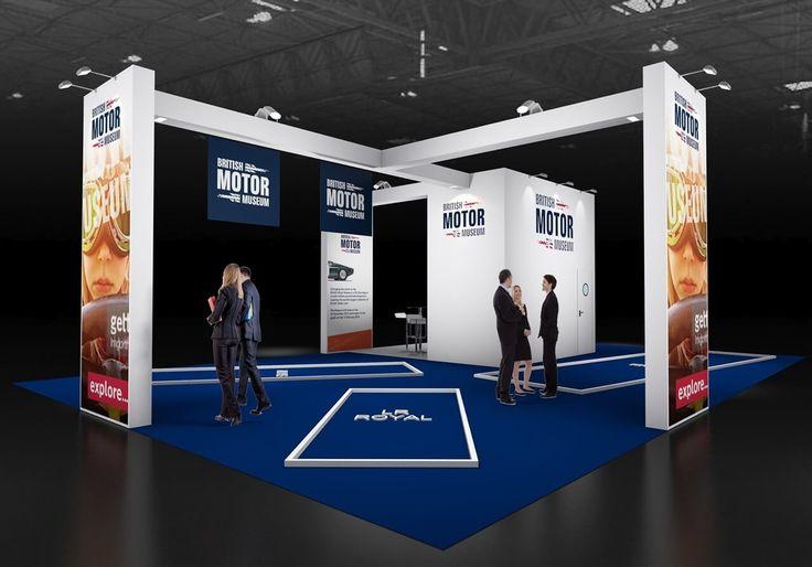 13m x 9m exhibition stand design