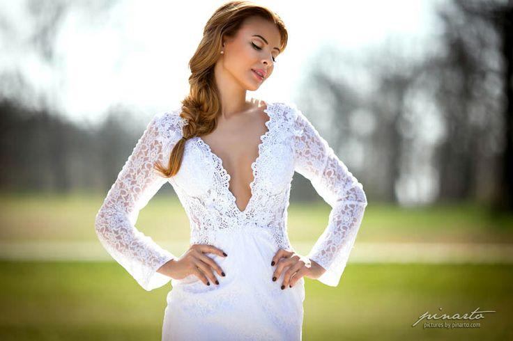 Wedding Dress ft. Monika Bagarova by pinarto.com