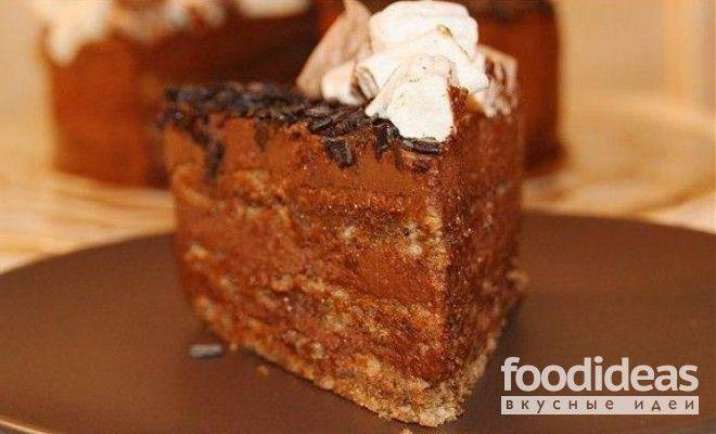 Шоколадно-ореховый торт - рецепт приготовления с фото | FOODideas.info