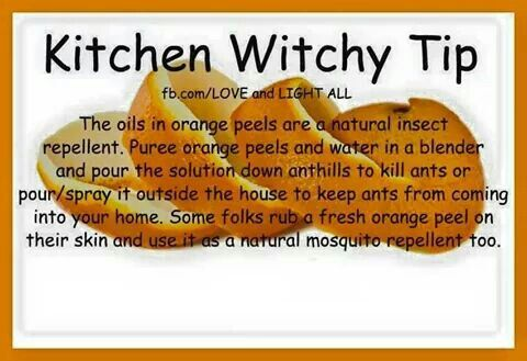 Kitchen witch tip: Use a different font next time buddy! (Thanks for the advice).