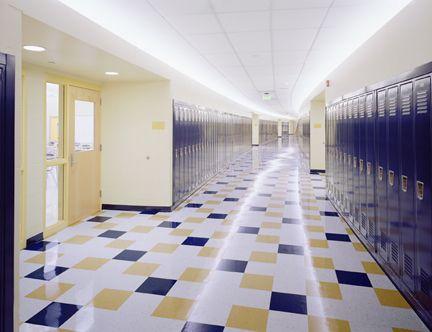 Hardyston middle school robert newell lighting design