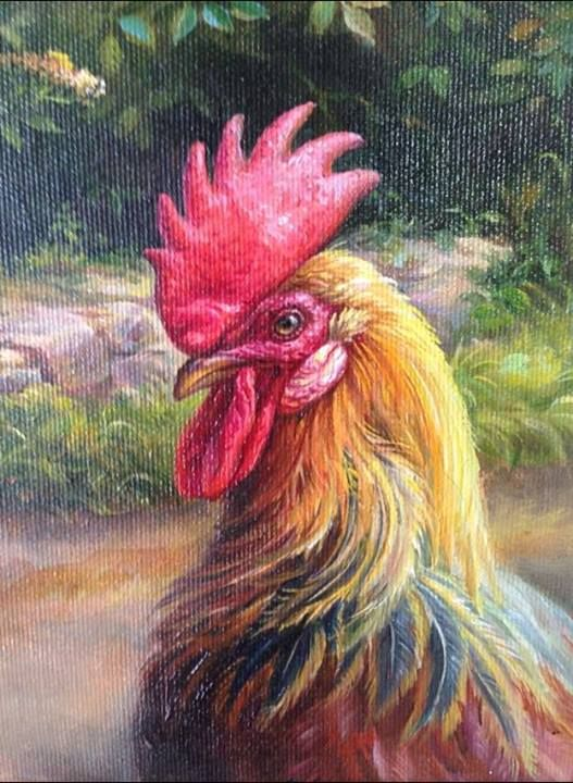 Rooster by Maria Ilieva