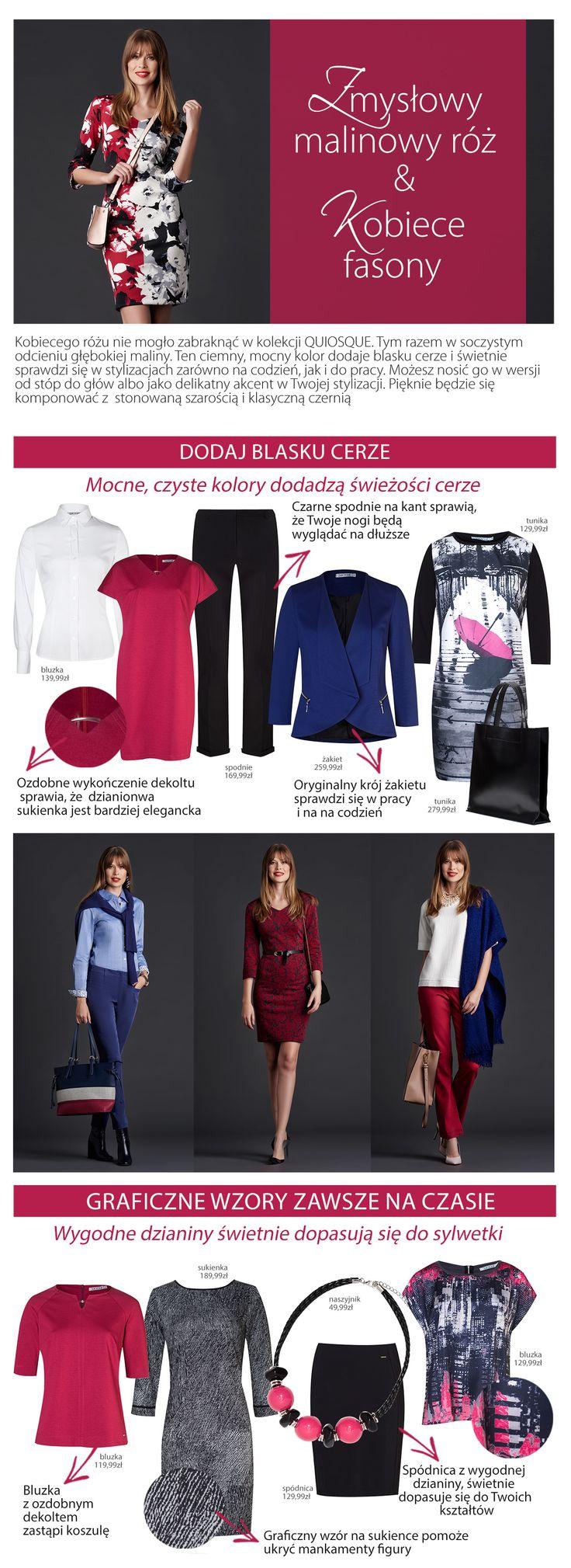 #quiosquepl #quiosque #naszeinspiracje #poniedzialek #monday #new #collection #lady #style #kolory #details #klasyka #colour #colourful #dress #bag #blouse #trousers #jacket #feminine #kobieco #nadruk #womanwear #trends #inspirations