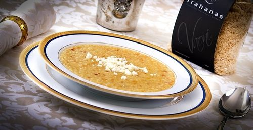 Trahanas soup - Luxury & Premium Mediterranean Gastronomy