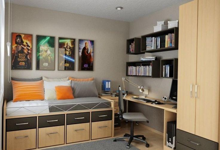 chambre ado petit espace recherche google fefilles pinterest bureaux design et interieur. Black Bedroom Furniture Sets. Home Design Ideas