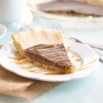 This Twix Pie is made with all wholesome ingredients. It is paleo and vegan friendly and taste better than the traditional candy bar!