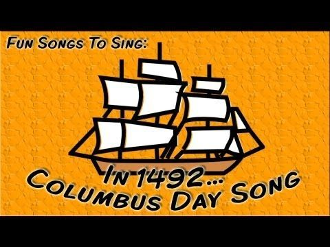 Great 2 minute video on Columbus Day to start your lesson.  Kids will love the catchy tune and lyrics.  Watch at:  https://youtu.be/V9q6HtcgWRA