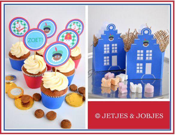 Sinterklaas printables - Jetjes & Jobjes