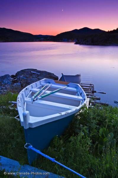 Fleur De Lys Sunset Coastline Newfoundland