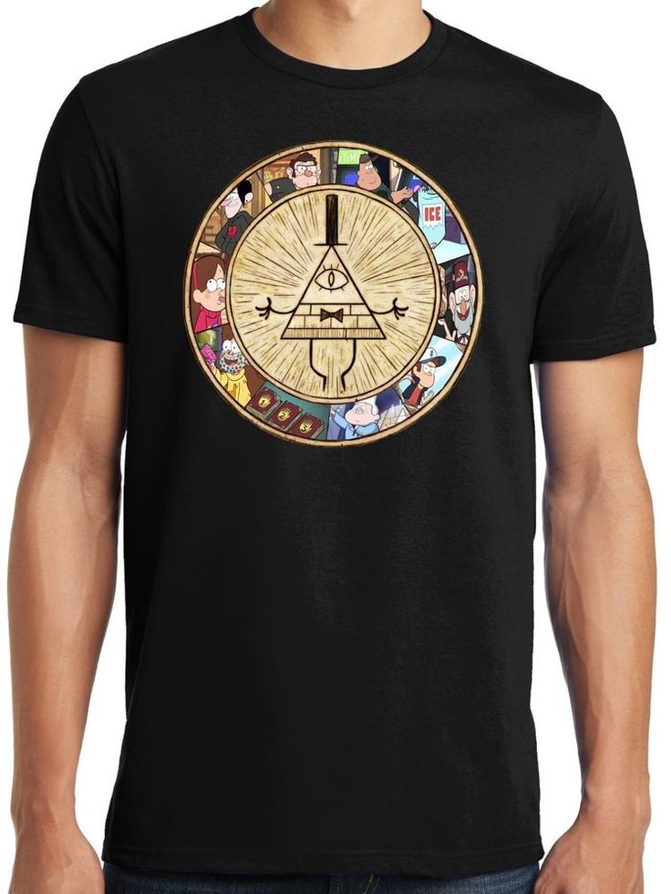 New Gravity Falls Bill Cipher Adult T-shirt #PubliciTeeZ #ShortSleeve