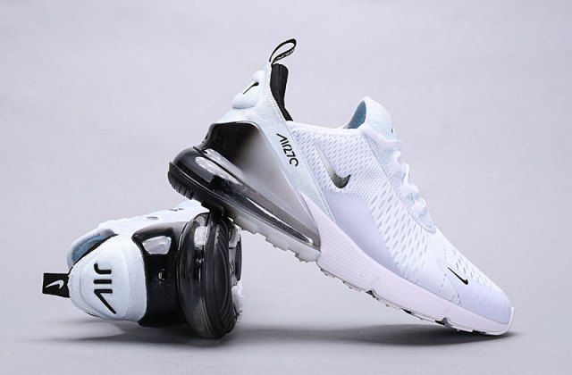 ab4f09de79997 Nike Air Max 270 White Black Spectrum AH8050-101 Men's Women's Running Shoes  - NikeShoesZone
