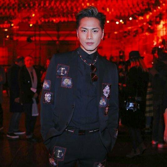 Tosaka Hiroomi [Dior Homme Fashion show 21.7.2017] [Paris]