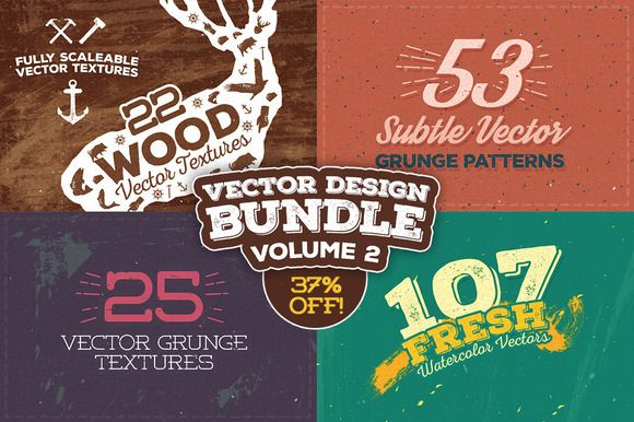 Check out Vector Design Bundle: Volume 2 by Layerform on Creative Market