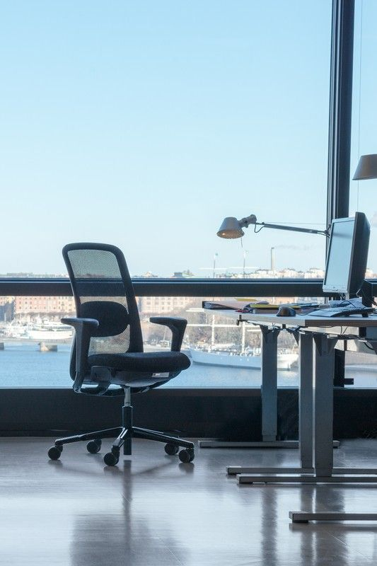 HÅG SoFi  enjoying the view from the Tengbom Architect's office #InspireGreatWork #design #Scandinavian #chair