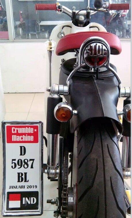 Motor inn rental system さんの Cub Hondas #papaki... - Honda SuperCub Custom Style カスタムカブ画像集