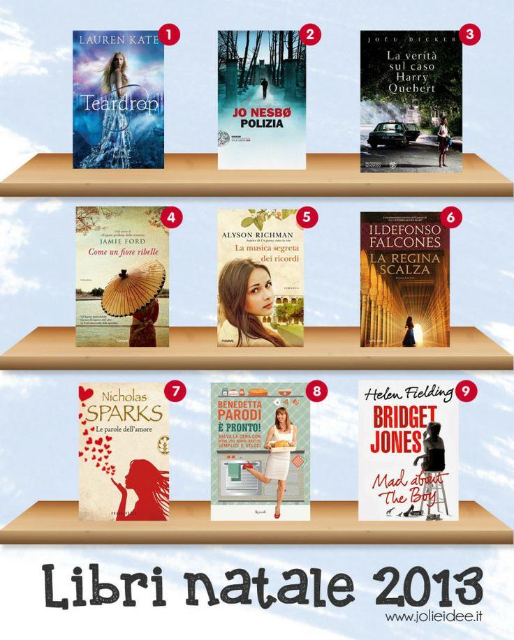 Libri Natale 2013 - I libri da mettere sotto l'albero #natale2013 #libri #regalidinatale #ilregalogiustoper #christmas #book
