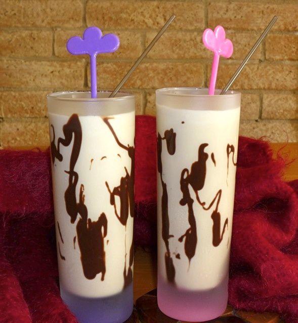 Dom Pedros made with Amarula cream liqueur.
