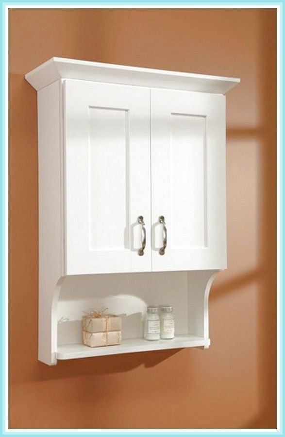 Model  Simple Solutions Over The Toilet Cabinet Bathroom Storage White  EBay