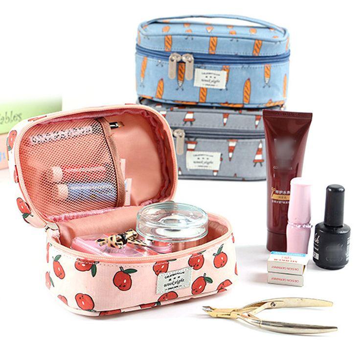 Small Fresh Cotton Cute Handheld Small Cosmetic Bag Travel Wash Bag Storage Bag #Affiliate